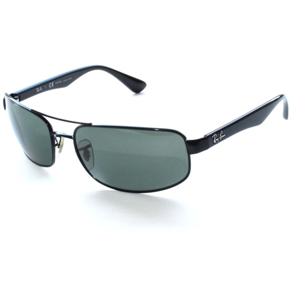 4797d2ea25 RAY-BAN Polarized Sunglasses RB 3445 002 58 61-17.  M 5ab42fa43800c59e10ad63e3